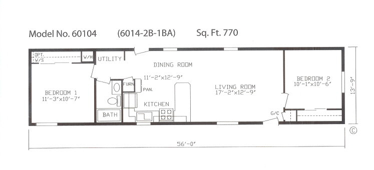 14 x 70 mobile home floor plan quotes for 14 wide mobile home floor plans